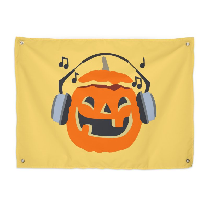 Halloween Music Home Tapestry by damian's Artist Shop