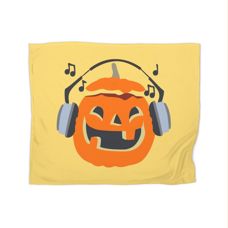 Halloween Music Home Blanket by damian's Artist Shop