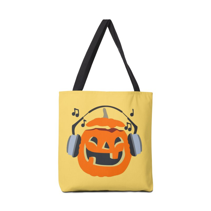 Halloween Music Accessories Bag by damian's Artist Shop