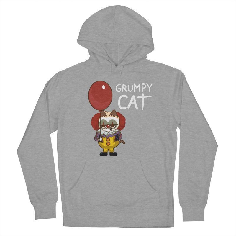 clown cat Women's Pullover Hoody by damian's Artist Shop