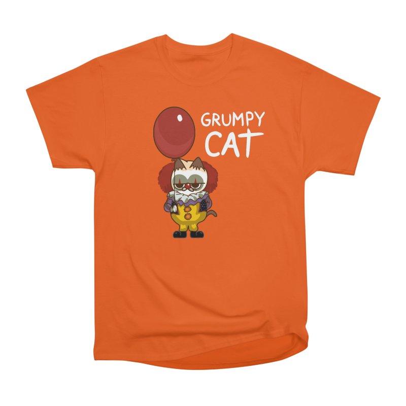 clown cat Women's Classic Unisex T-Shirt by damian's Artist Shop