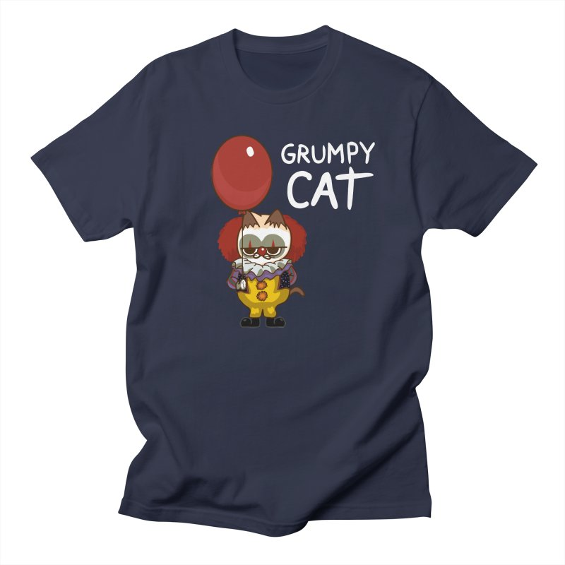 clown cat Women's Unisex T-Shirt by damian's Artist Shop