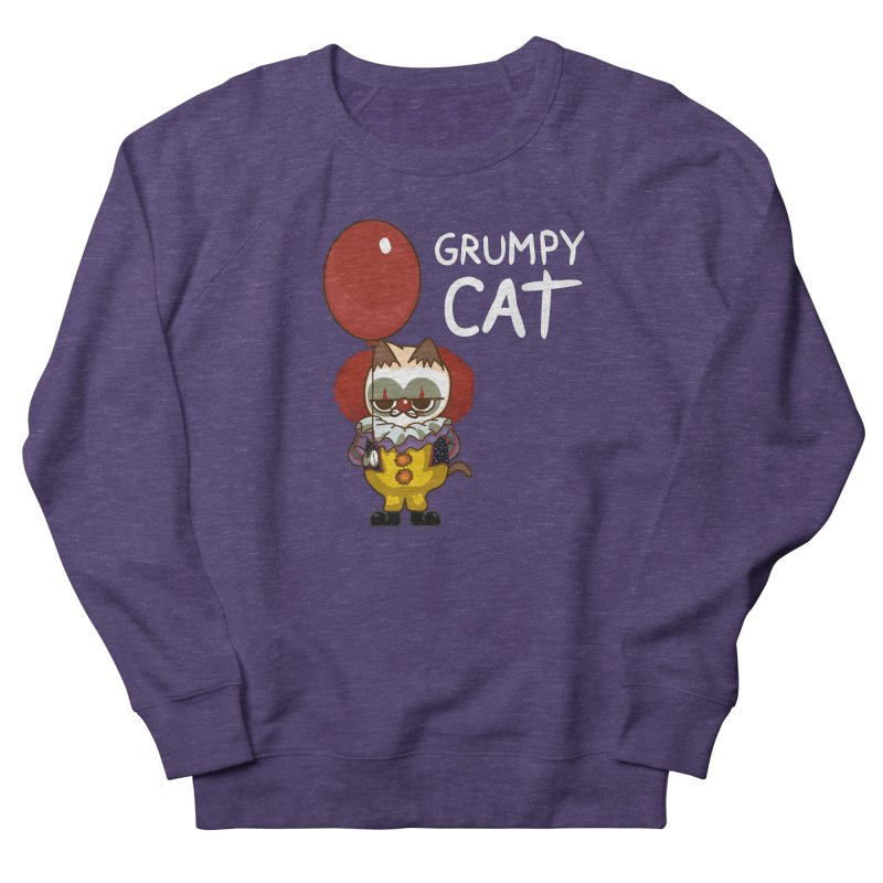 clown cat Men's Sweatshirt by damian's Artist Shop