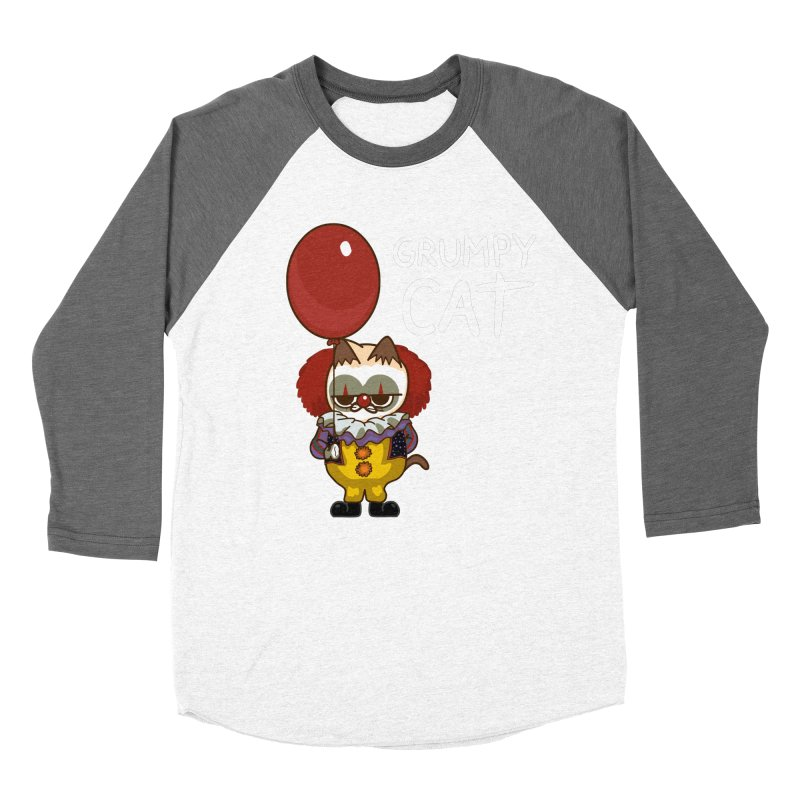 clown cat Women's Longsleeve T-Shirt by damian's Artist Shop