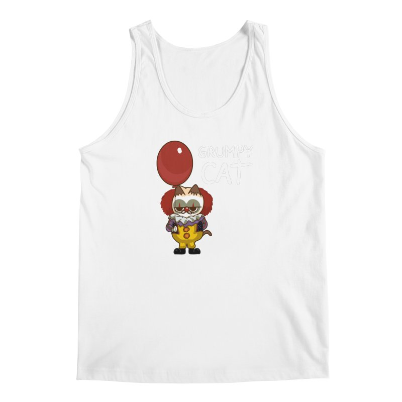 clown cat Men's Tank by damian's Artist Shop