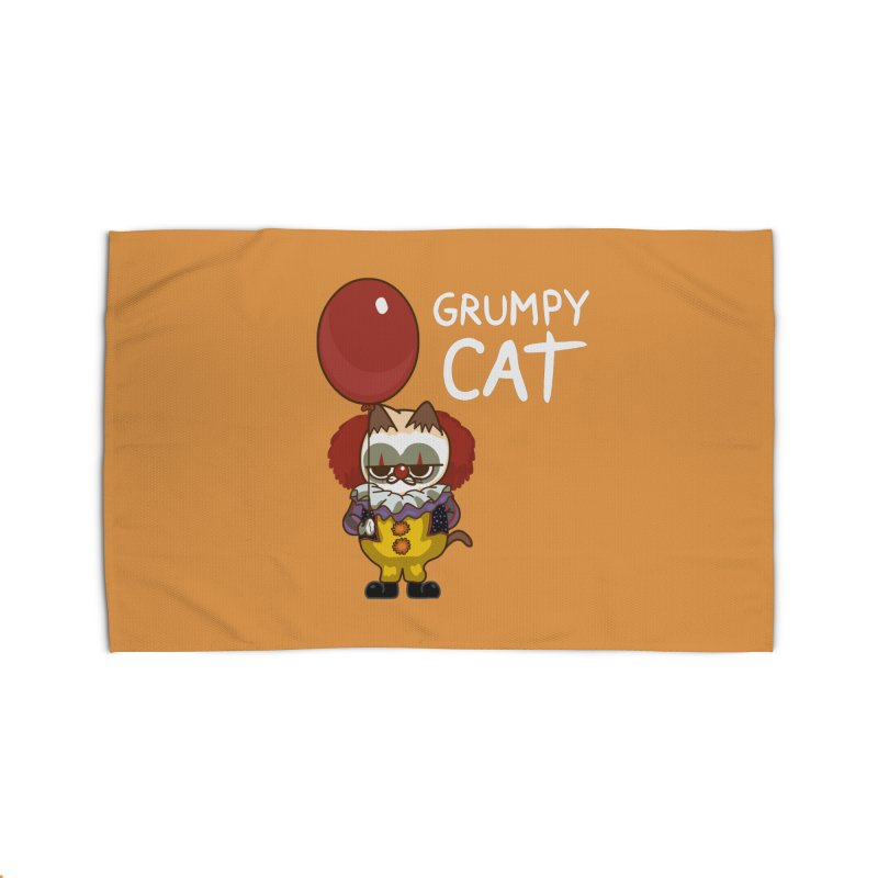 clown cat Home Rug by damian's Artist Shop