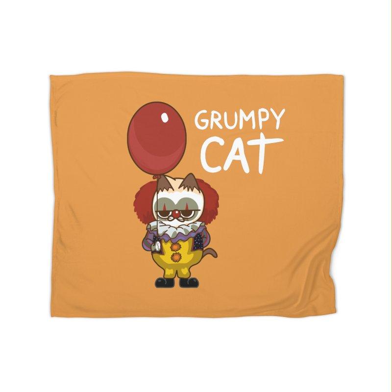 clown cat Home Blanket by damian's Artist Shop