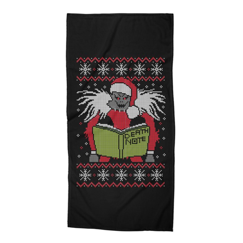 Merry Christmas Accessories Beach Towel by damian's Artist Shop