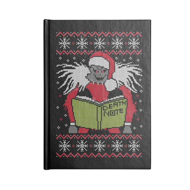 Merry Christmas Accessories Notebook by damian's Artist Shop
