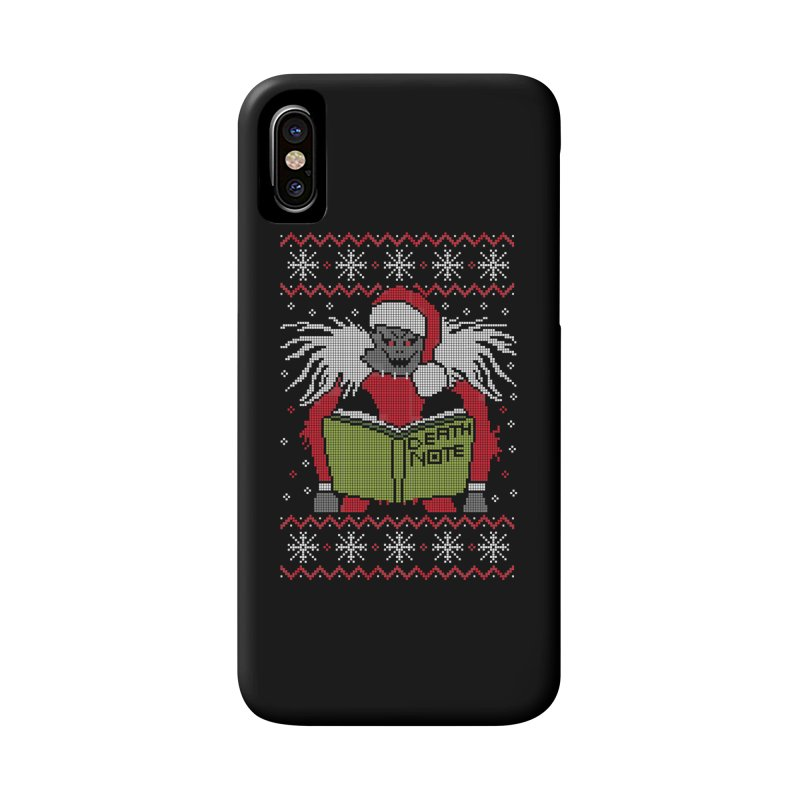 Merry Christmas Accessories Phone Case by damian's Artist Shop