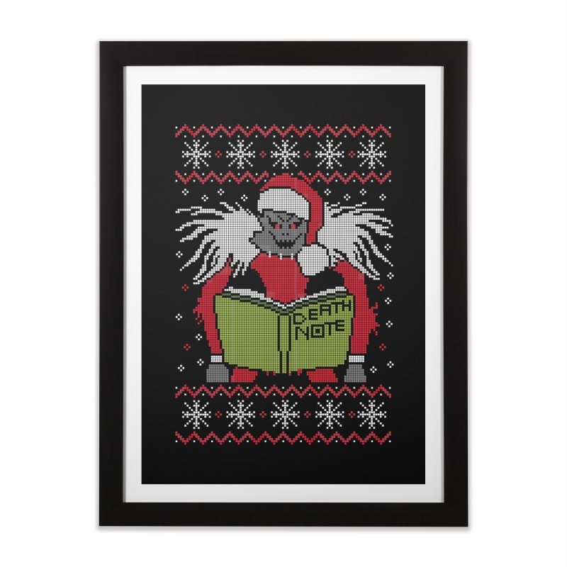 Merry Christmas Home Framed Fine Art Print by damian's Artist Shop