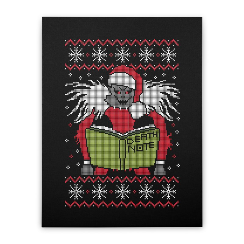 Merry Christmas Home Stretched Canvas by damian's Artist Shop