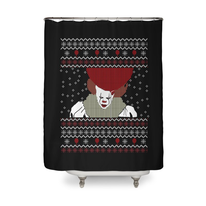 Christmas Home Shower Curtain by damian's Artist Shop
