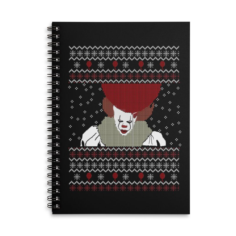 Christmas Accessories Notebook by damian's Artist Shop