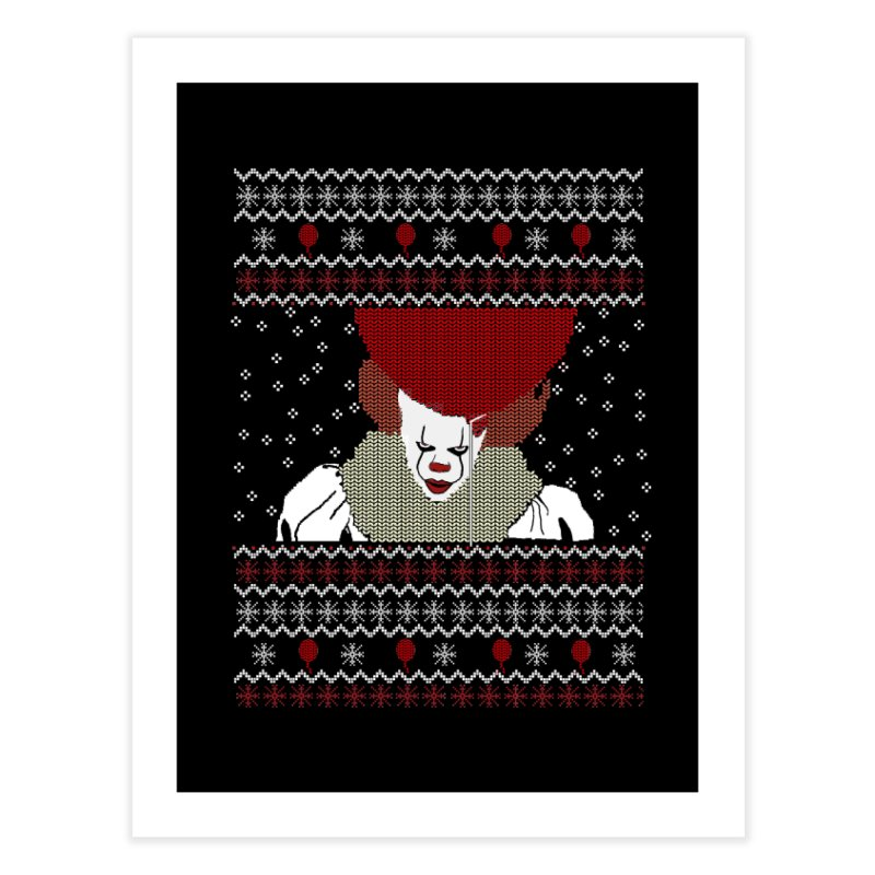 Christmas Home Fine Art Print by damian's Artist Shop