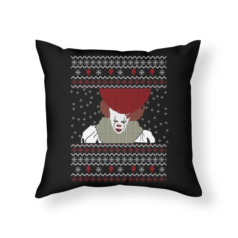 Christmas Home Throw Pillow by damian's Artist Shop