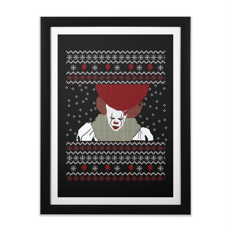 Christmas Home Framed Fine Art Print by damian's Artist Shop
