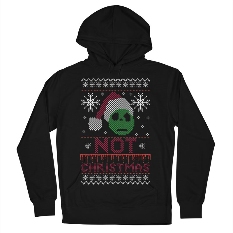 Not  christmas Men's Pullover Hoody by damian's Artist Shop