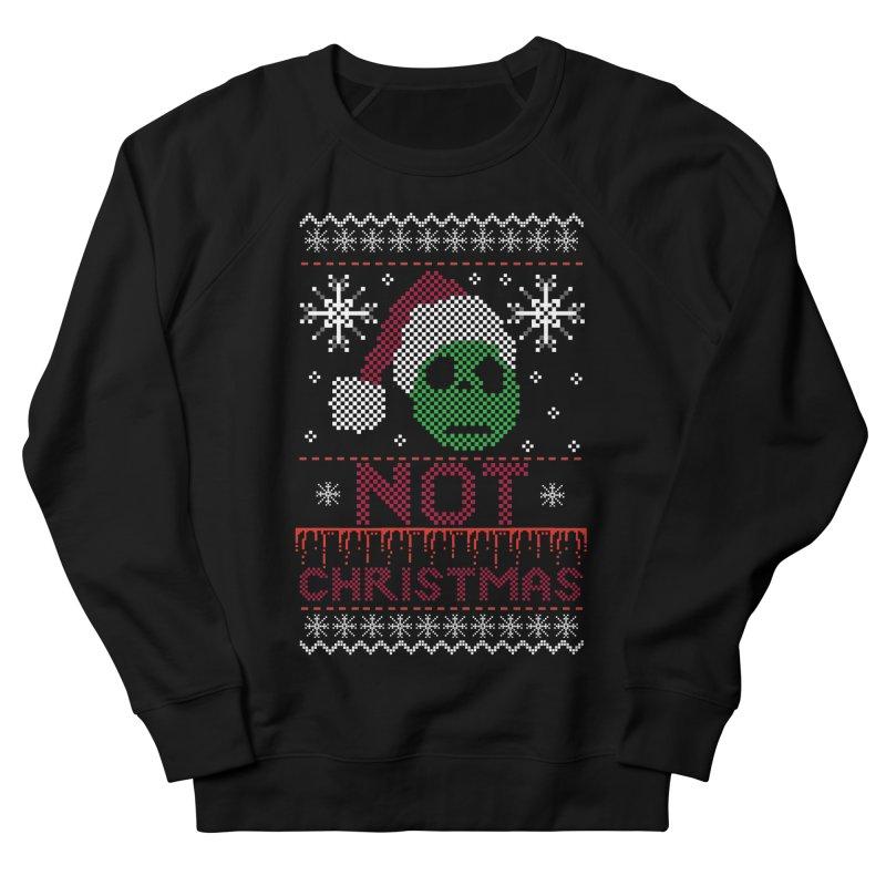 Not  christmas Men's Sweatshirt by damian's Artist Shop
