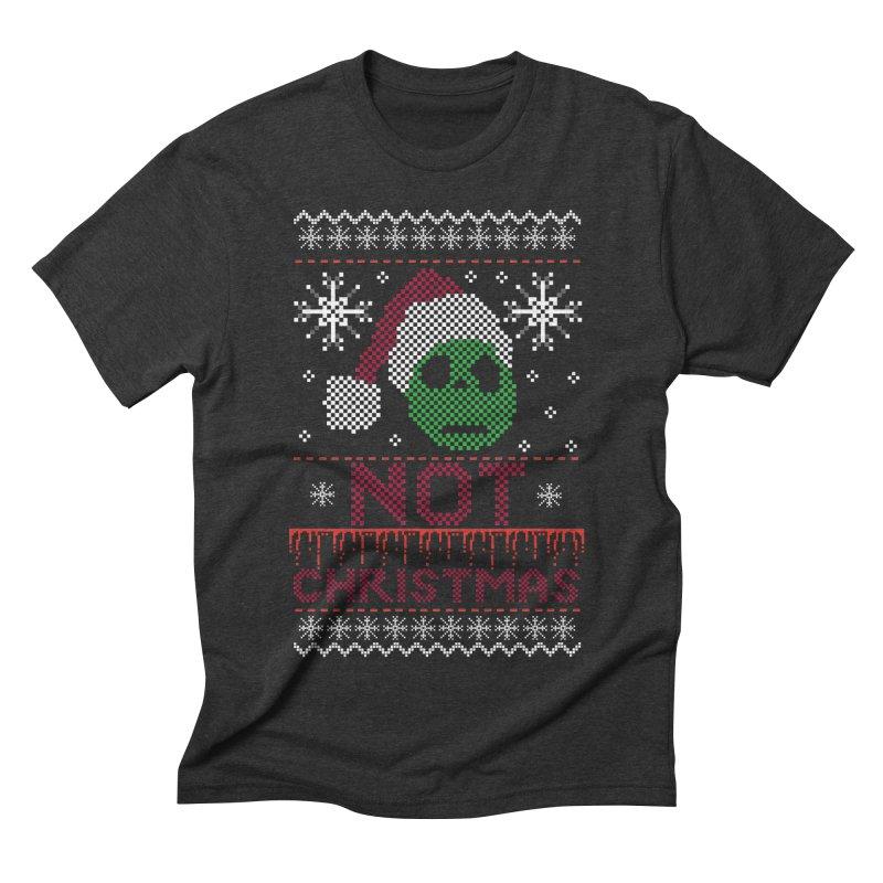 Not  christmas Men's Triblend T-Shirt by damian's Artist Shop