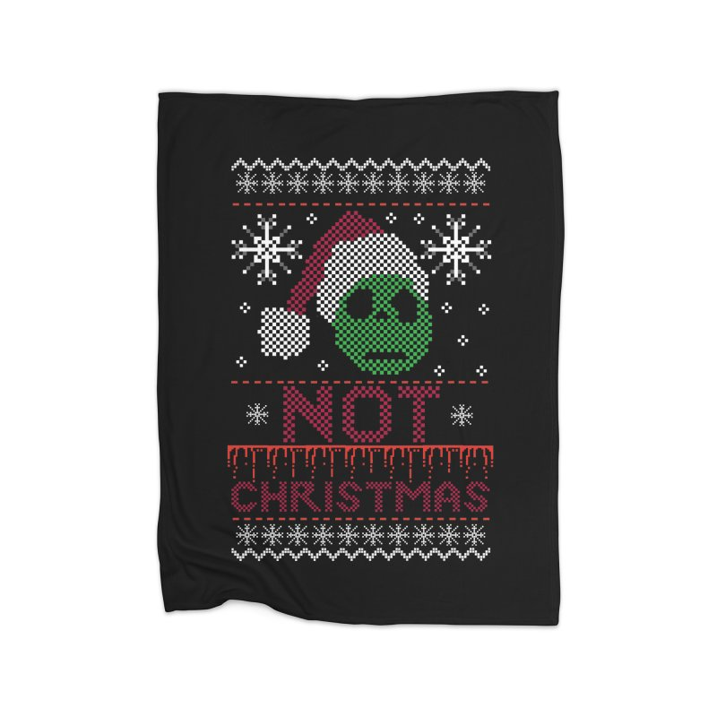 Not  christmas Home Blanket by damian's Artist Shop