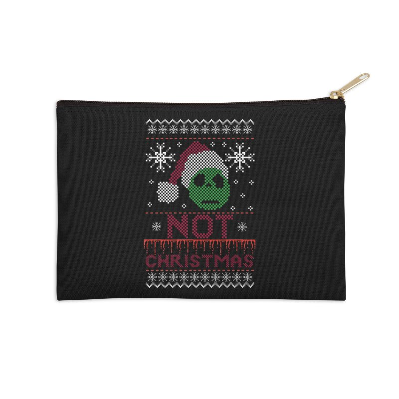 Not  christmas Accessories Zip Pouch by damian's Artist Shop