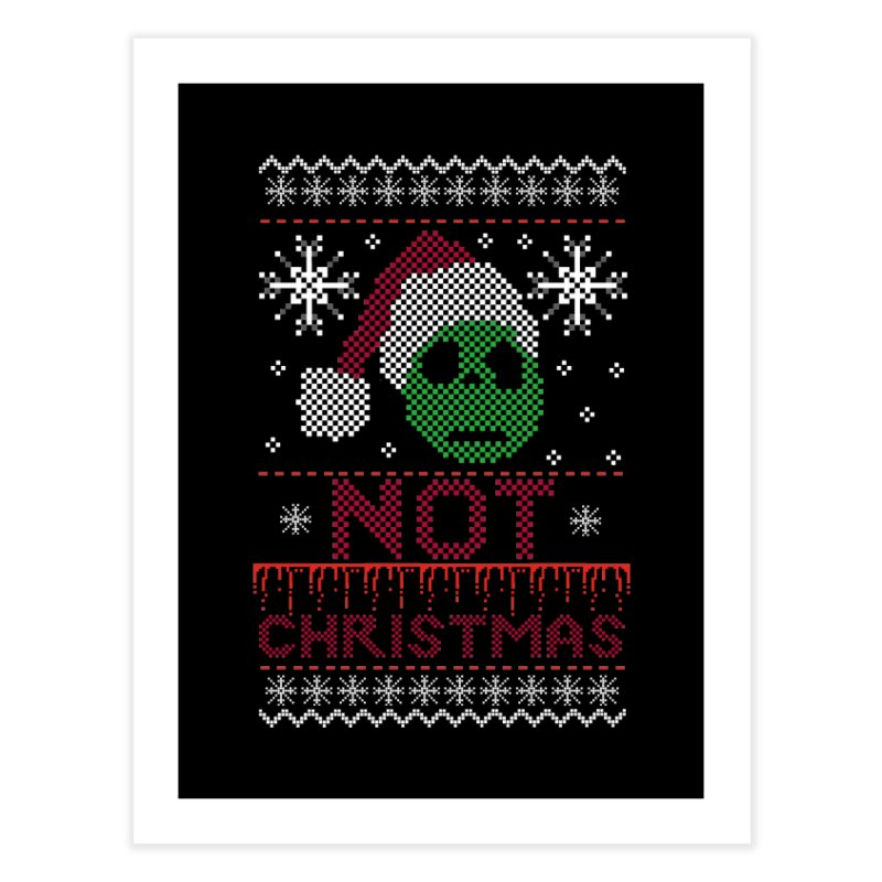 Not  christmas Home Fine Art Print by damian's Artist Shop
