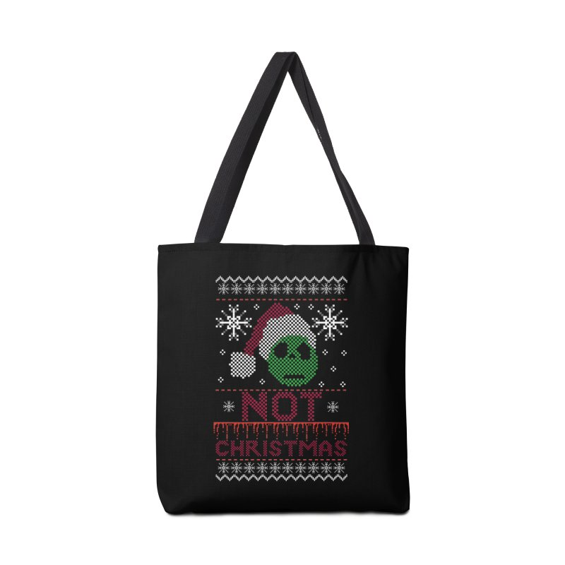Not  christmas Accessories Bag by damian's Artist Shop