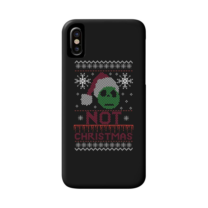 Not  christmas Accessories Phone Case by damian's Artist Shop