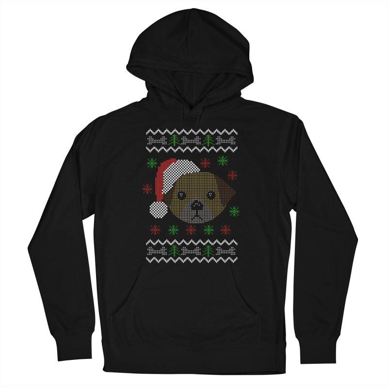 Navidad Dog Women's Pullover Hoody by damian's Artist Shop