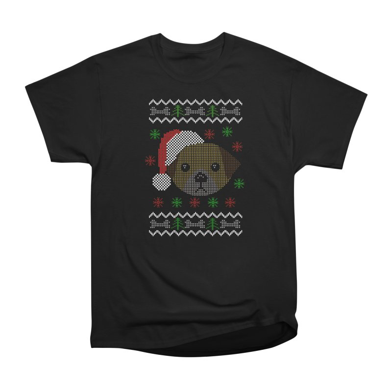 Navidad Dog Men's Classic T-Shirt by damian's Artist Shop