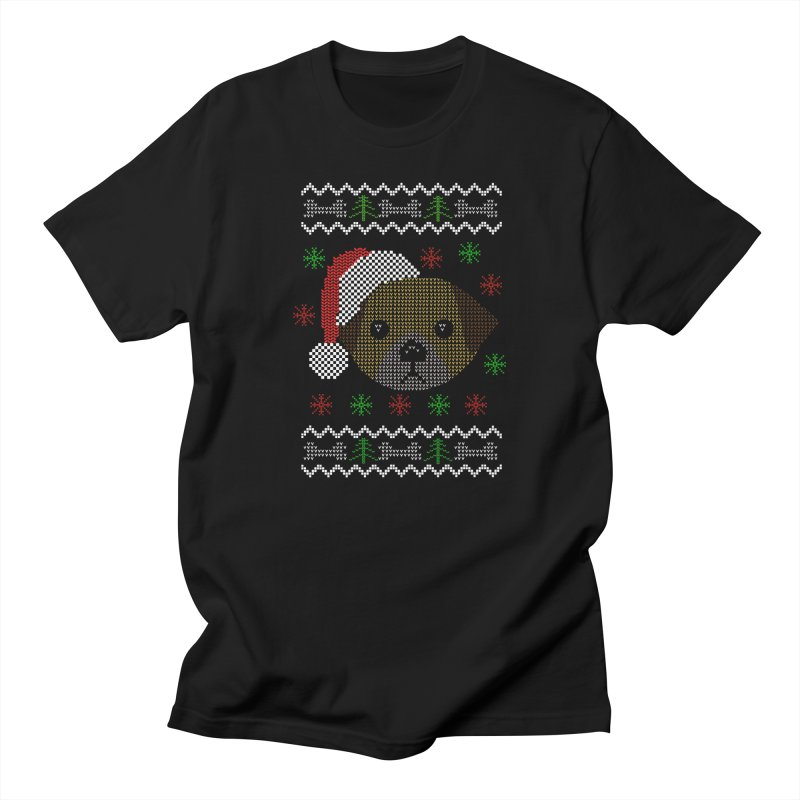 Navidad Dog Women's Unisex T-Shirt by damian's Artist Shop