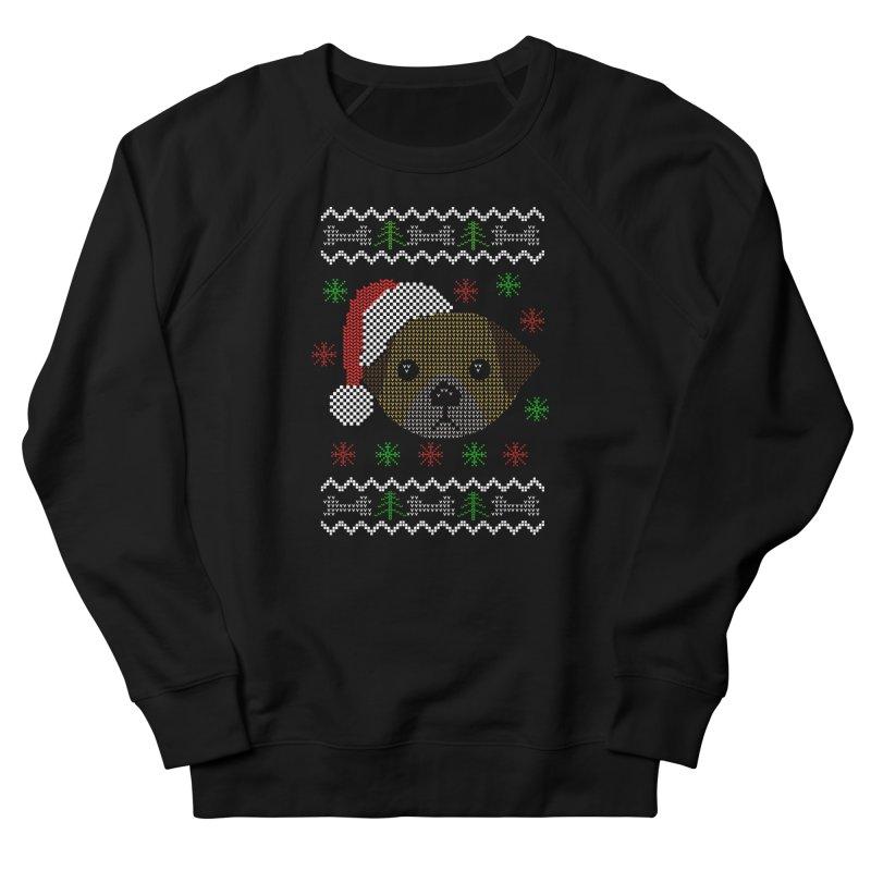 Navidad Dog Men's Sweatshirt by damian's Artist Shop