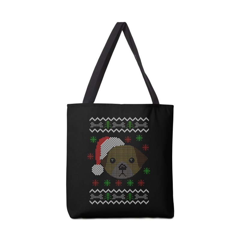 Navidad Dog Accessories Bag by damian's Artist Shop