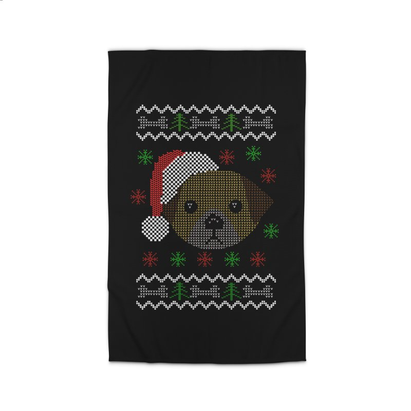 Navidad Dog Home Rug by damian's Artist Shop