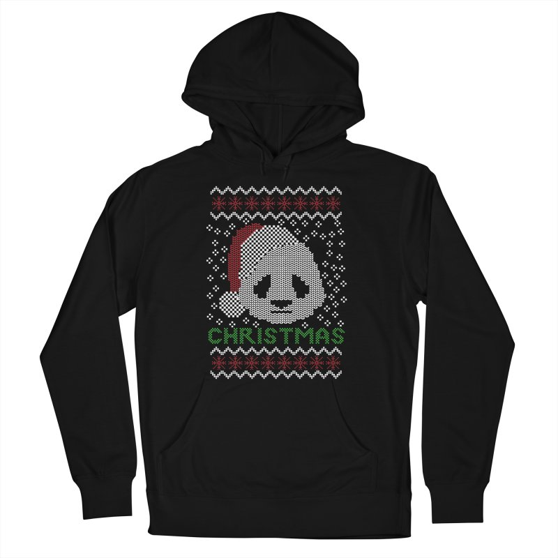 Oso Panda Christmas Men's Pullover Hoody by damian's Artist Shop