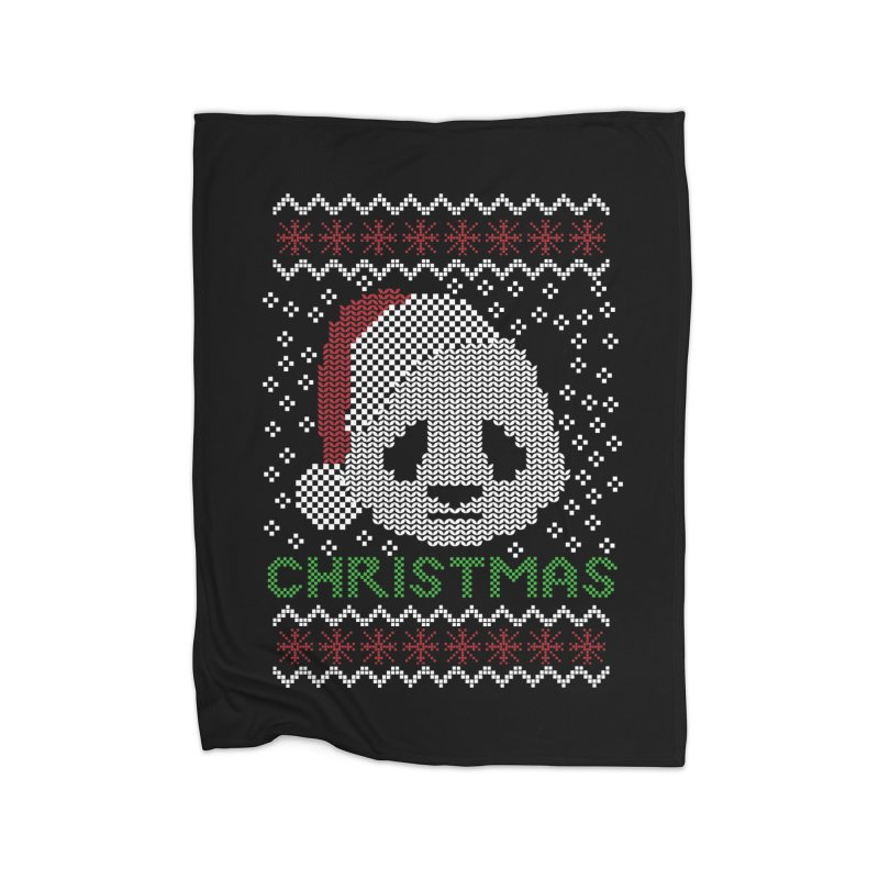 Oso Panda Christmas Home Blanket by damian's Artist Shop