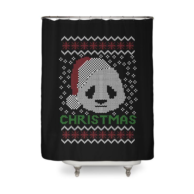 Oso Panda Christmas Home Shower Curtain by damian's Artist Shop