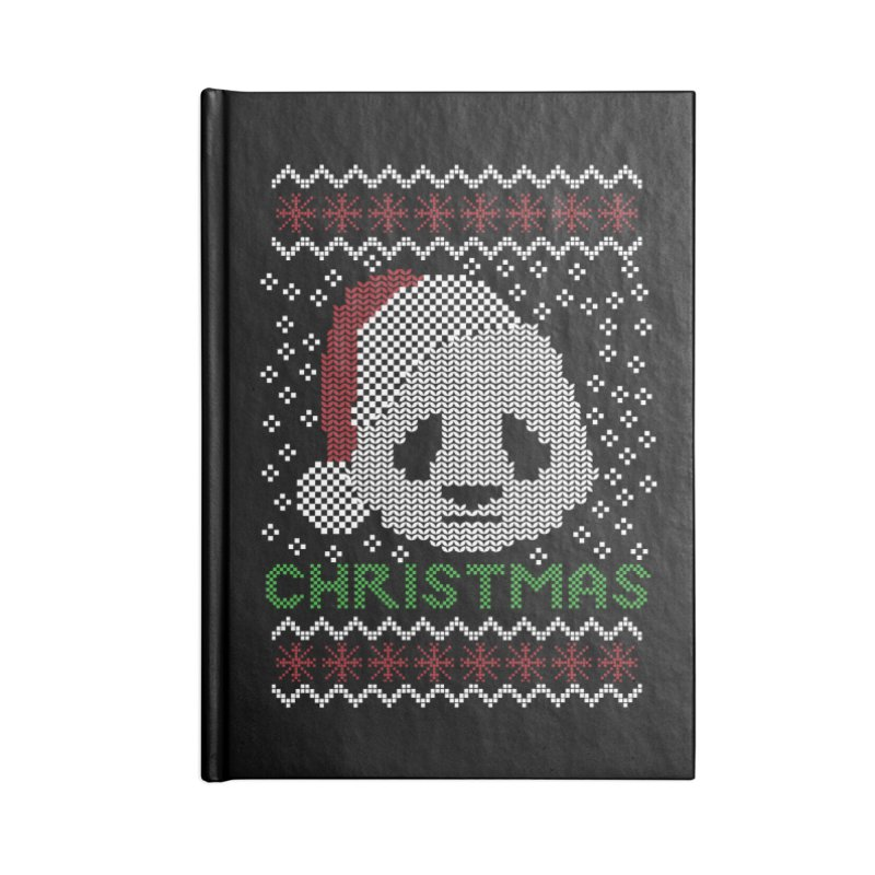 Oso Panda Christmas Accessories Notebook by damian's Artist Shop