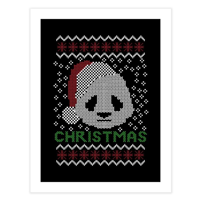 Oso Panda Christmas Home Fine Art Print by damian's Artist Shop