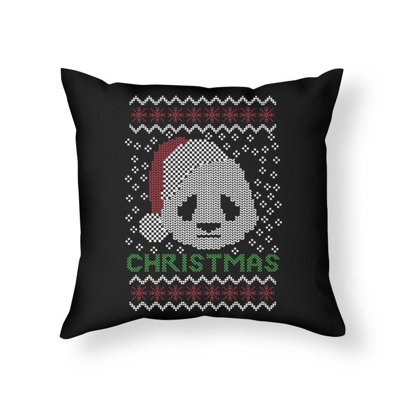 Oso Panda Christmas Home Throw Pillow by damian's Artist Shop