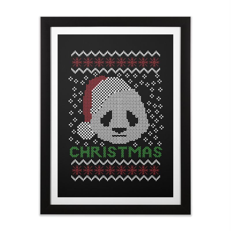 Oso Panda Christmas Home Framed Fine Art Print by damian's Artist Shop