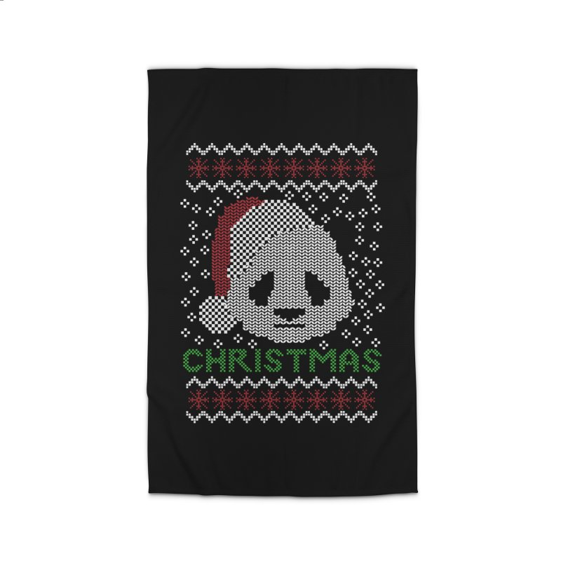 Oso Panda Christmas Home Rug by damian's Artist Shop