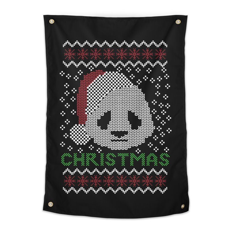 Oso Panda Christmas Home Tapestry by damian's Artist Shop