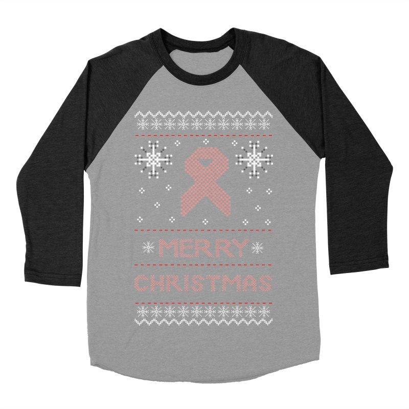 Merry Christmas Women's Baseball Triblend T-Shirt by damian's Artist Shop
