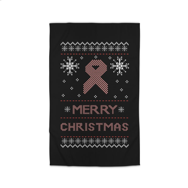 Merry Christmas Home Rug by damian's Artist Shop