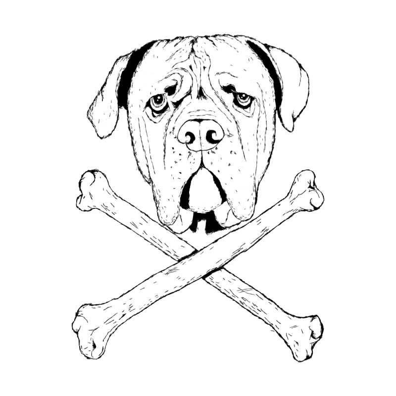 Dog Pirata Men's T-Shirt by damian's Artist Shop