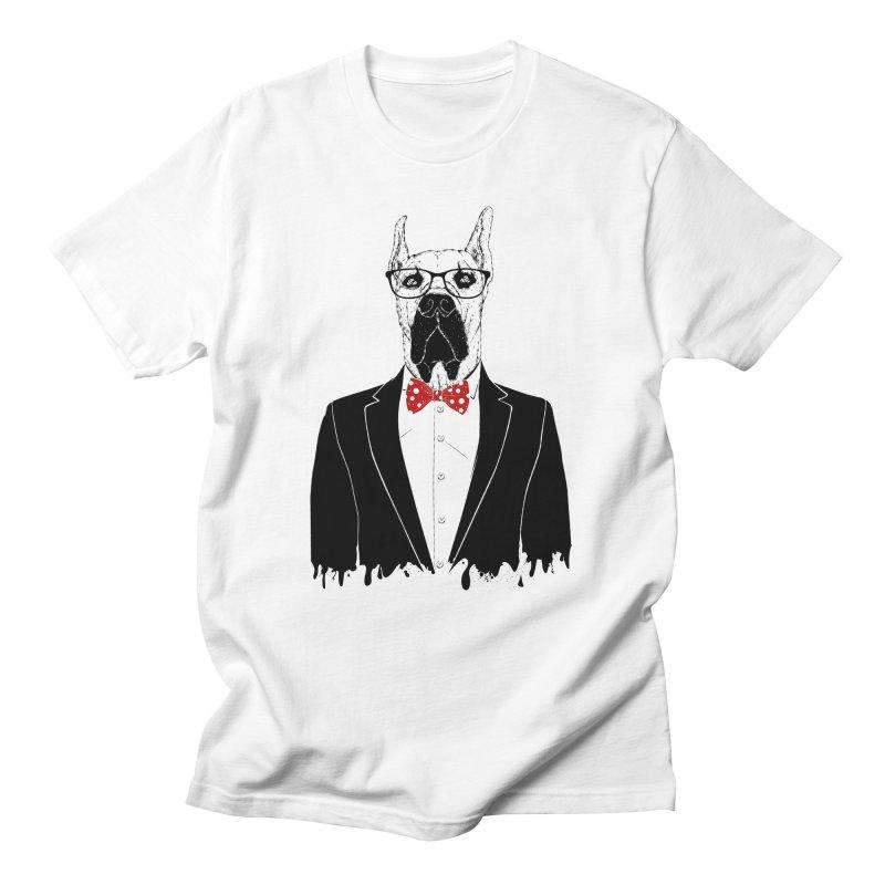Great Danes Men's T-Shirt by damian's Artist Shop