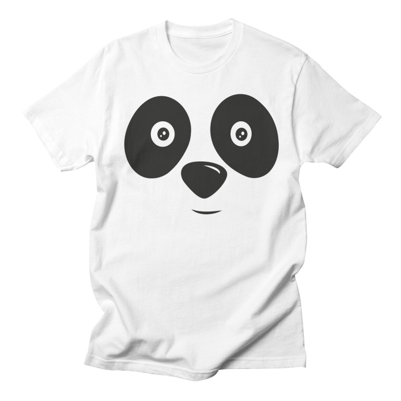 LINDO OSITO PANDA in Men's T-shirt White by damian's Artist Shop