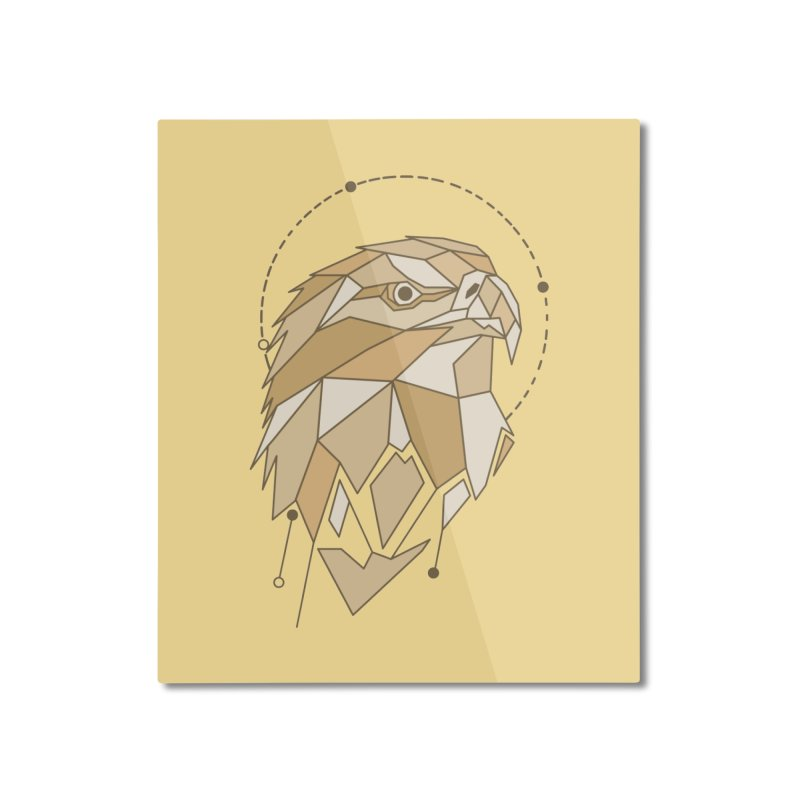 Aguila colash Home Mounted Aluminum Print by damian's Artist Shop